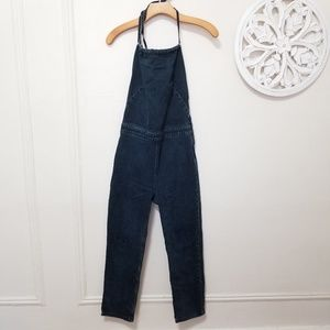 Free people size 4 denim jumpsuit